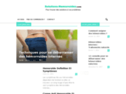 Les solutions aux diverses hémorroïdes