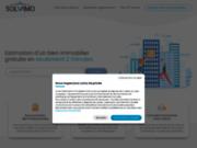 screenshot http://www.solvimo.com réseau d'agences immobilières solvimo