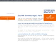 Société de nettoyage, Paris, Ile de France