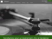 screenshot http://www.sonofactory.fr animation sonofactory performance