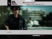 screenshot http://www.sophierenard.com créateur mode