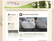 screenshot http://www.sophrologie-44-aromatherapie.fr le sourire d'isis