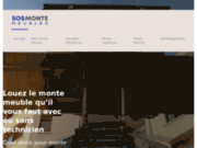 screenshot http://www.sosmontemeubles.fr/ location monte meubles