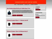 screenshot http://www.sosserrurier.com serrurier paris et ile de france