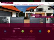 screenshot http://www.sothoferm.fr/ Fabricant de portails, portes de garage, clôtures et volets
