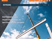 screenshot http://www.sotrama.fr votre partenaire levage manutention dans l'ouest