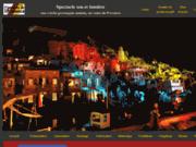 screenshot http://www.sousleslumieresdeprovence.fr spectacle son et lumière d'une crèche provençale