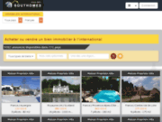 screenshot http://www.southomes.com immobilier international southomes