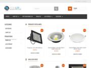 screenshot http://www.sow-led.com Vente en ligne de spots et ampoules LED