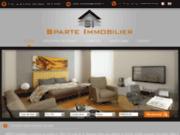 screenshot http://www.sparte-immobilier.com sparte immobilier