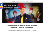 screenshot http://www.spectacledenoel.net allan - spectacle de noel