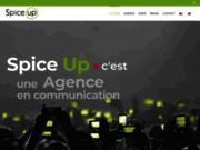 screenshot http://www.spiceup.fr agence évènementielle