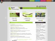 screenshot http://www.sport-consultant.fr Conseil, étude et accompagnement des associations et clubs sportifs