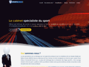 screenshot http://www.sportetdroit.com Avocat droit du sport