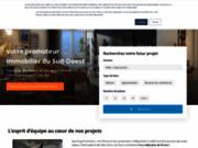 screenshot http://sporting-promotion.fr Promoteur immobilier à Toulouse