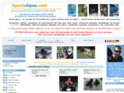 screenshot http://www.sportsalpes.com sportsalpes.com la centrale de réservations