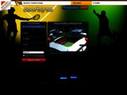 screenshot http://www.sportyran.net sportyran le jeu de foot en ligne