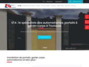 screenshot http://sta31.com portail automatique 31