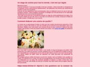 screenshot http://www.stage-cuisine.com Cours de cuisine montpellier épices
