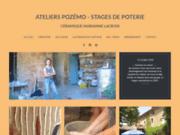 screenshot http://www.stage-de-poterie.com stages de poterie