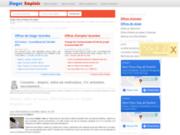 screenshot http://www.stages-emplois.com stages emplois : offres de stage et emploi