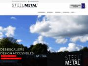 Steel Métal : fabricant d'Escaliers Design dans le Morbihan