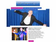 screenshot http://www.stefanclamaron.com stefan clamaron magicien