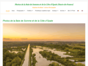 screenshot http://www.stephane-bouilland.com/index.html picardie maritime somme et photo nature
