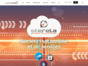 Sterela comptage route électronique porte-cible