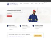 screenshot http://www.stevagas.com Exporter en Chine