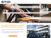 screenshot http://www.stio-group.com/ service de préparation de commandes à Paris