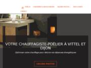 Chauffagiste et Poêlier à Vittel et Dijon