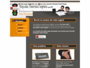 screenshot http://www.StopAuxMauvaisPayeurs.com recouvrement de créances à l'amiable