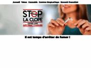 screenshot http://www.StopLaClope.fr arrêter de fumer