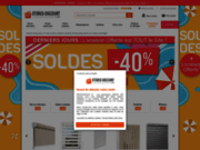 screenshot http://www.stores-discount.com stores discount, le spécialiste du store