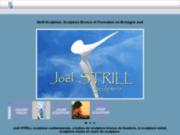 Joël Strill, sculpteur, sculptures, bois, bronze, stages