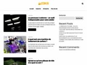 screenshot http://www.stsm.fr stsm - société de tolerie industrielle
