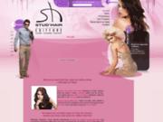 screenshot http://www.stud-hair.com coiffure homme et femme à charleroi