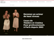 screenshot http://www.studio-muller.com studio muller, cours de théâtre
