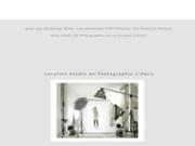 Studio de Photo en location à Paris