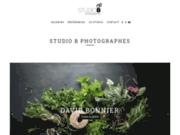 screenshot http://www.studiob.fr studio b - studio de photographie numérique - prise de vue photo culinaire, cosmétique et packaging - paris