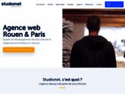 screenshot http://www.studionet.fr/ studionet  agence digitale