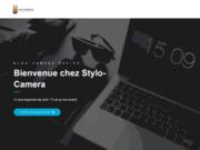 screenshot http://www.stylo-camera.fr Stylo-camera.fr
