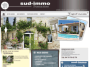 screenshot http://www.sudimmotransactions.com vente maison appartement romans sur isère