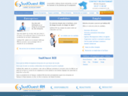 screenshot http://www.sudouest-rh.fr offres d'emplois