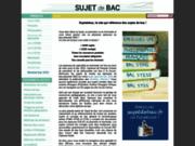 Sujets du baccalauréat et simulation de notes