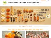 screenshot http://www.sun-fruitssecs.com/ spécialiste des fruits secs