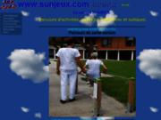 screenshot http://www.sunjeux.com achat et vente de baby foot et billard neufs