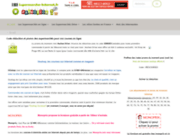 screenshot http://www.supermarche-internet.fr comparatif des supermarchés