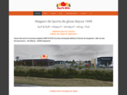 screenshot http://www.surfnkite.fr surf'n kite - magasin de kitesurf surf et windsurf